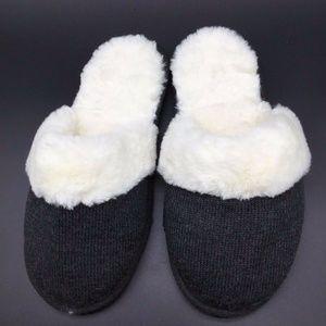 S Victoria's Secret Faux Fur Slippers SMALL 5 6